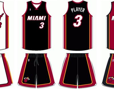 Miami-Heat-current-uniforms