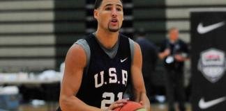 Klay Thompson Basketball
