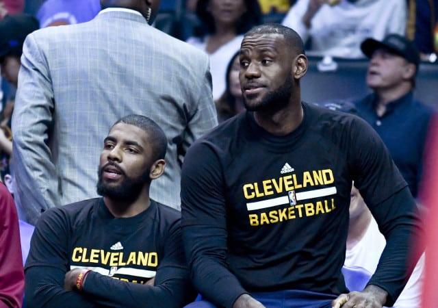 LeBron James NBA Resting