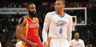 NBA MVP, Russell Westbrook, James Harden