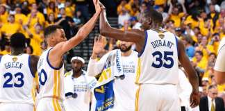 2017 NBA Finals, Stephen Curry, Kevin Durant