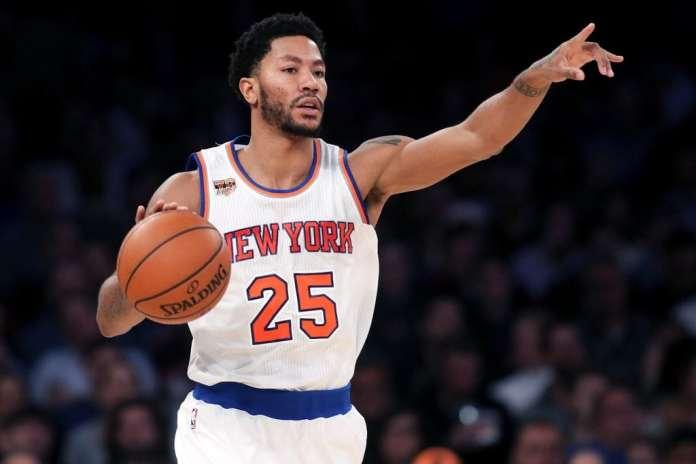 Derrick Rose, New York Knicks