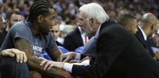 Kawhi Leonard and Gregg Popovich NBA coachability