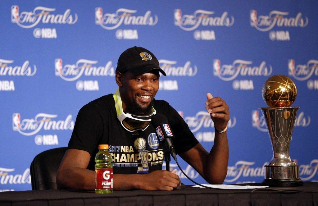 Kevin Durant, Golden State Warriors, 2017 NBA Finals