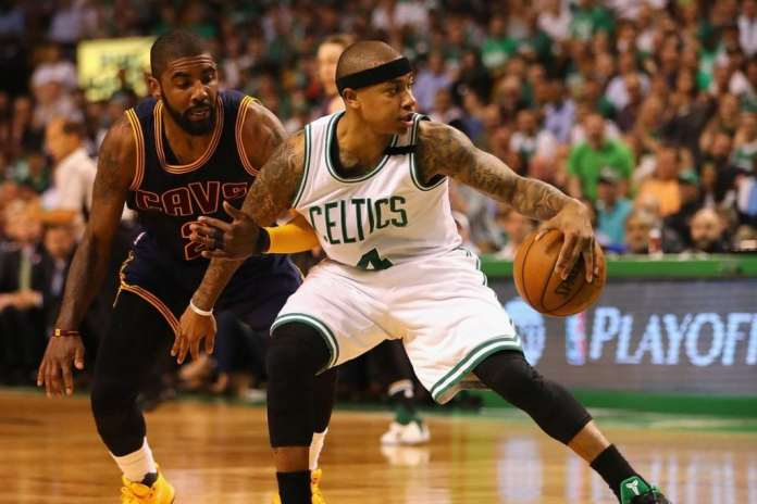 Boston Celtics, Cleveland Cavaliers, Isaiah Thomas, Kyrie Irving