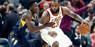 Indiana Pacers vs the Cleveland Cavaliers