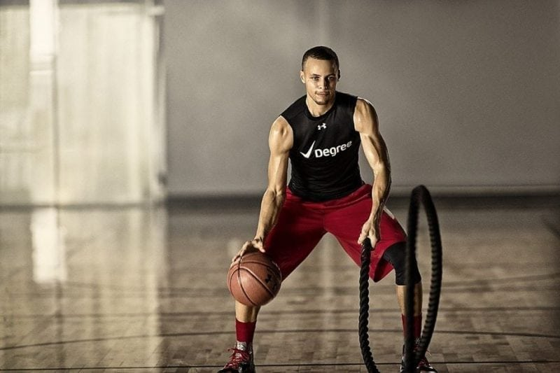 promo code 814a3 87705 Stephen Curry Basketball Training