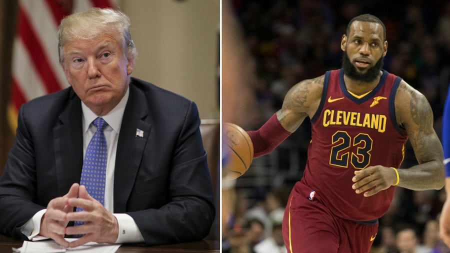 e722bf975cf5 LeBron James  new school should create manners class for President ...