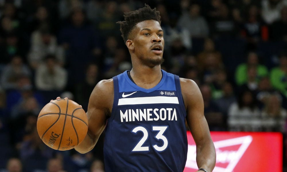 2d88bf8008f The biggest news out of the NBA s stratosphere is Jimmy Butler requesting a  trade from the Minnesota Timberwolves.