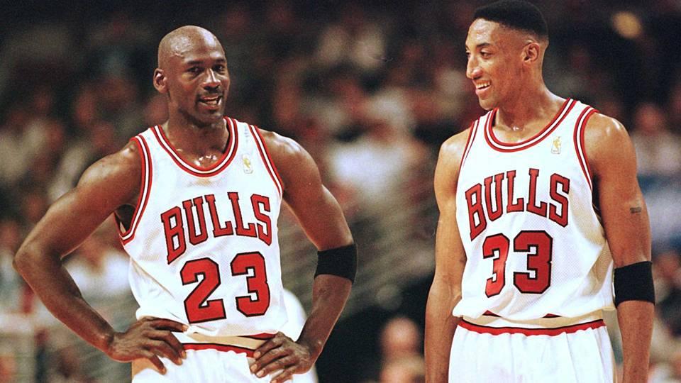 a6e1513ae553 Scottie Pippen  Michael Jordan s  93 Retirement Bonded Bulls