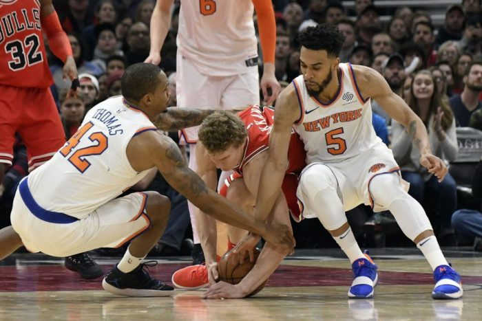 Two players the Knicks should look to trade this season