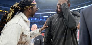 LeBron James and 2 Chainz