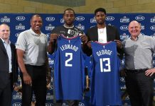 NBA Kawhi Leonard Paul George
