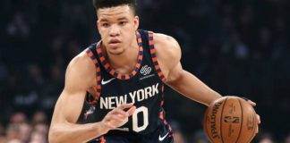New York Knicks forward Kevin Knox