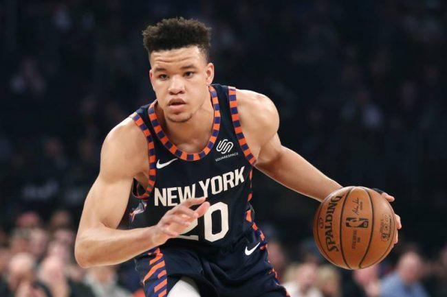 New York Knicks forward Kevin Knox
