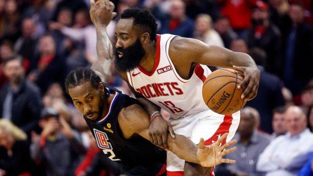 Kawhi Leonard vs James Harden NBA
