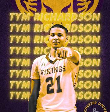 Tym Richardson, West Chester University