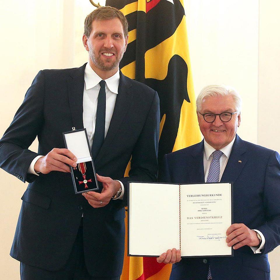 Höchste Auszeichnung für Dirk Nowitzki