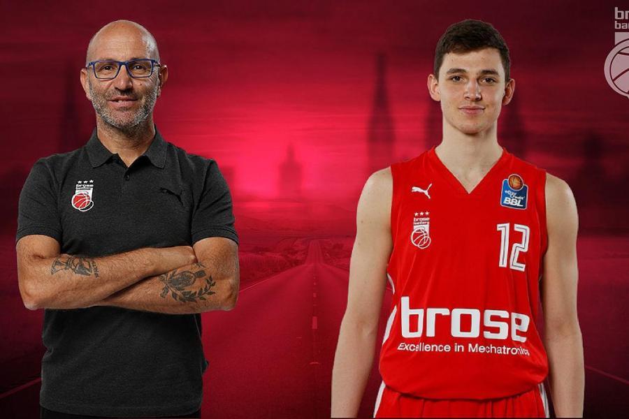 Brose-Youngster bleibt, Athletikcoach geht
