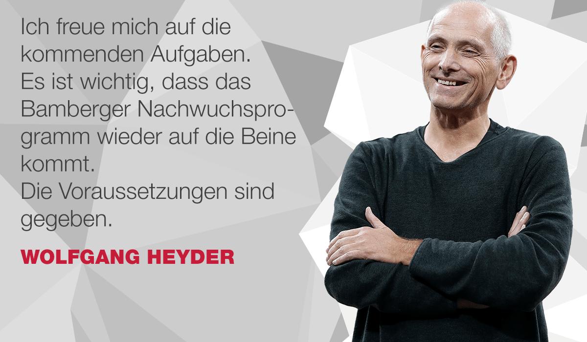 Wolfgang Heyder kehrt zurück
