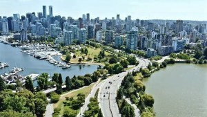 Stanley Park Vancouver Drone Footage