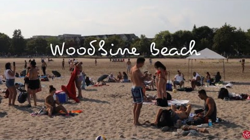 Woodbine Beach in Toronto