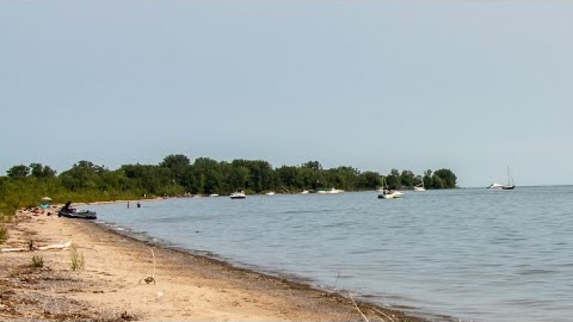 Woodbine Beach Toronto Google Map