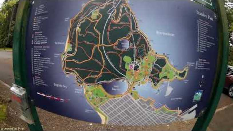 Stanley Park Vancouver Map