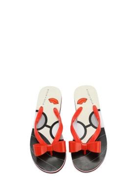 alice olivia stacey face flip sandal 8100 top