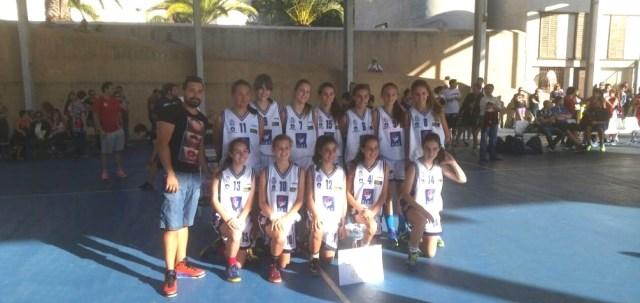 Selección de Santa Cruz Infantil de Primer Año - Campeón Torneo Femenino Día de Canarias