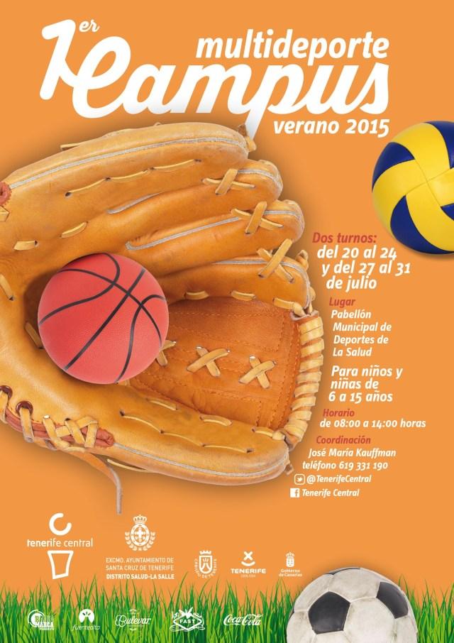 Primer Campus Multideporte Tenerife Central julio2015