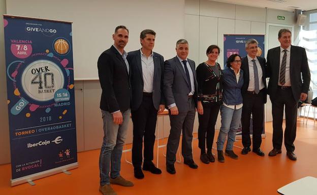 Arcega: «El Torneo Over 40 Basket de Madrid será un gran acontecimiento»