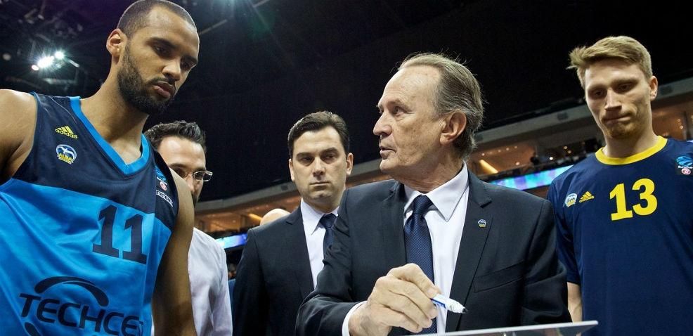 Aíto García Reneses, entrenador del año en la liga alemana con Alba Berlín