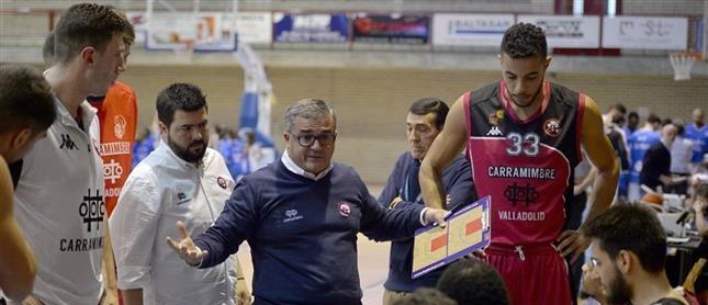 Paco García renueva como entrenador del CB Ciudad de Valladolid