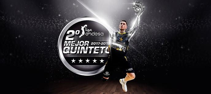 Ponitka, en el Segundo Mejor Quinteto de la Liga ACB 2017/18