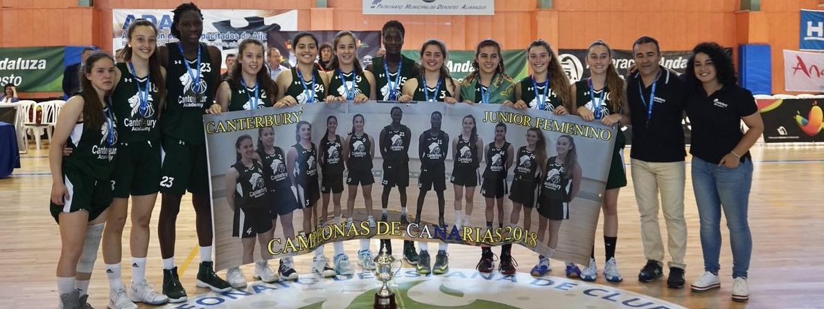 El Canterbury, subcampeón de España Júnior Femenino; Sika Kone, MVP