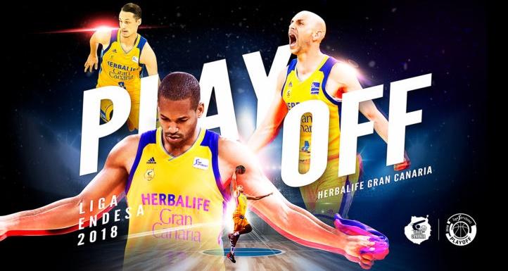El Gran Canaria se clasifica para el 'playoff' por el título de la Liga ACB