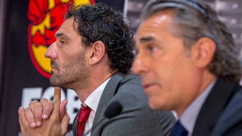 Garbajosa: «No he hablado con otro entrenador más allá de Sergio Scariolo»