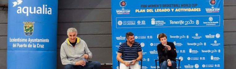 Aguilar y Romay hablan en Los Realejos y Puerto de la Cruz de igualdad en el baloncesto