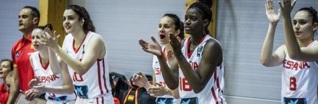 La selección española U20 Femenina consigue la segunda victoria del Europeo ante Bélgica