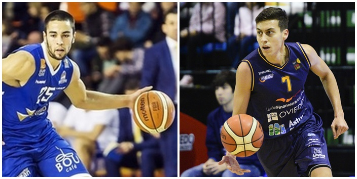 Álex López y Fabio Santana, dos canarios en ACB fuera de Canarias