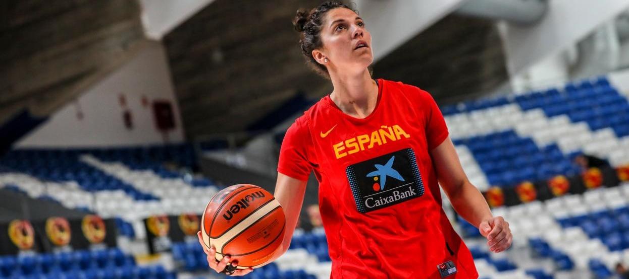 Bea Sánchez, internacional con España, se acuerda de su etapa en el Uni Tenerife