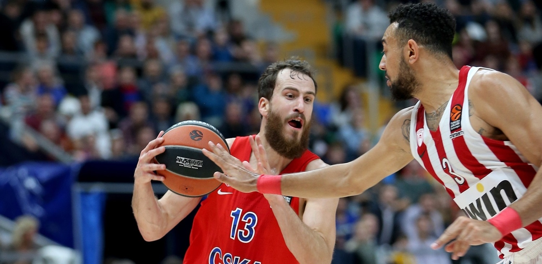 Sergio Rodríguez guía al CSKA Moscú a una gran victoria ante Olympiacos