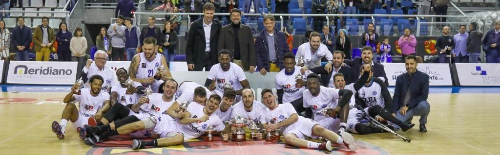 El Alicante, con varios ex de conjuntos canarios, campeón de la Copa LEB Plata