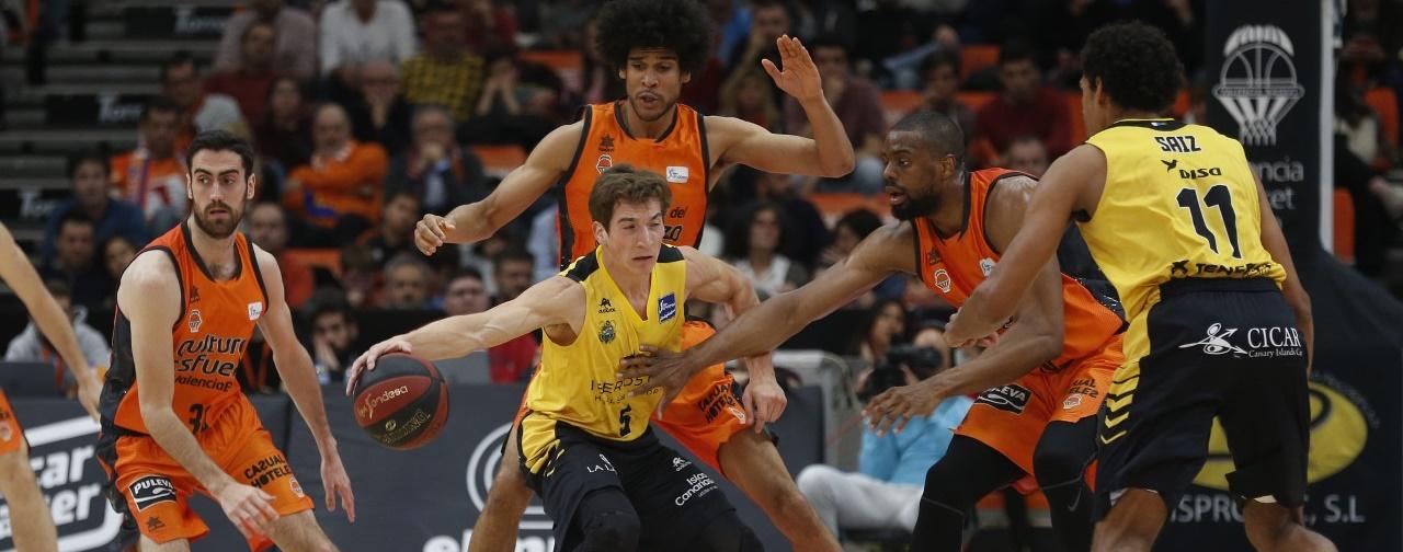 El Cantera Base 1939 Canarias cae ante un Valencia Basket 'enchufado' desde el triple