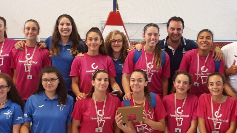 El Tenerife Central, campeón de Canarias en Infantil Femenino