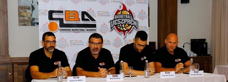 La Canarias Basketball Academy llega a Hungría
