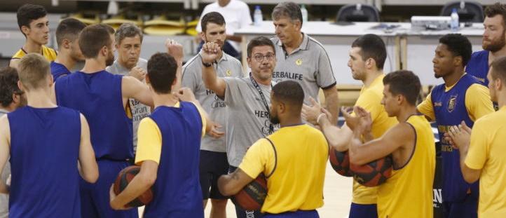 El Gran Canaria-Claret realizó su primer entrenamiento de pretemporada