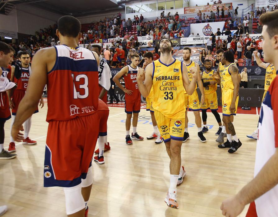 El Gran Canaria – Claret sufre en Manresa para lograr la primera victoria del curso