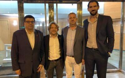 Barcelona acogió la Comisión de Presidentes de Federaciones Autonómicas